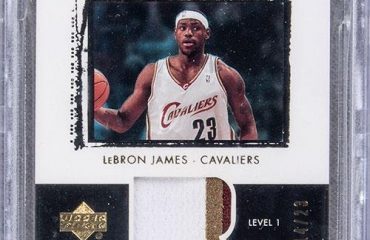lebron basketball card
