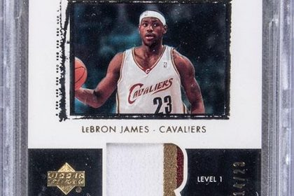 lebron basketball card